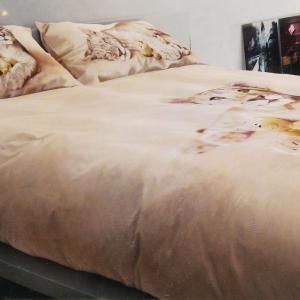 Set copripiumino letto singolo 1 piazza BASSETTI LEO beige