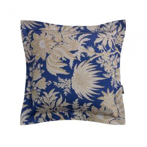 Cuscino arredo decorativo ZUCCHI Collection BAHAR blu satin 60x60 cm