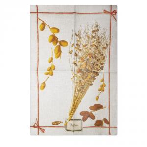 Strofinaccio da cucina Tessitura Toscana - EXOTIC: DATTERO puro lino