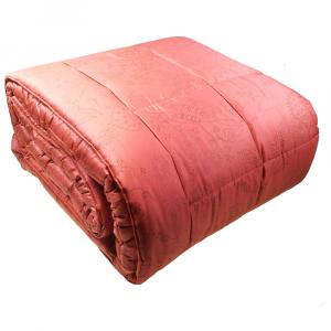 FAZZINI trapunta maxi 270x270 SKETCH matrimoniale 2 piazze raso rosso
