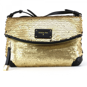 Shoulder bag Patrizia Pepe  2V7795 A2BF I2PT Sequins Gold/Black