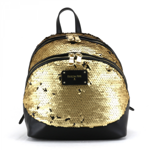 Backpack Patrizia Pepe  2V7786 A2BF I2PT Sequins Gold/Black