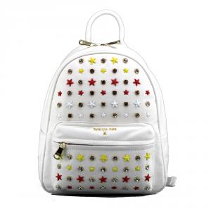 Backpack Patrizia Pepe  2V7768 A3CR XS09 Stars White