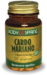 BODY SPRING CARDO MARIANO - CAPSULE PER AIUTARE LA FUNZIONALITA' EPATICA