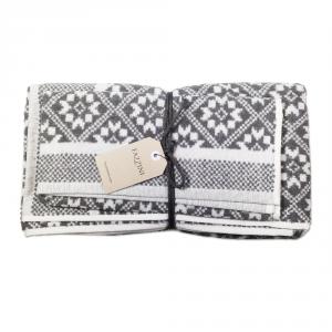 FAZZINI set 1+1 asciugamano e ospite NORWAY 100% spugna - grigio
