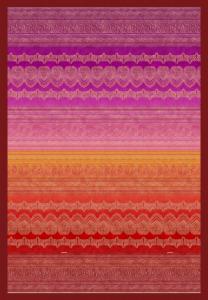Bassetti Plaid Granfoulard 180x250 cm BRUNELLESCHI v.1 rosso