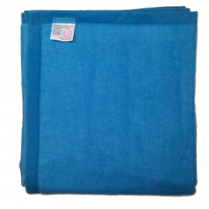 Coperta ignifuga resistente alle fiamme 110x160 cm blu