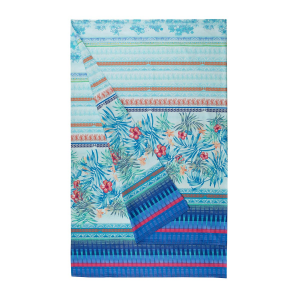 Bassetti Granfoulard telo arredo SORRENTO var.3 180x270 cm azzurro turchese