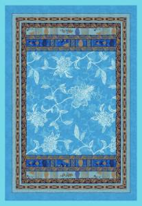 Bassetti Plaid Granfoulard 135x190 cm PONZA 3 turchese regalo originale