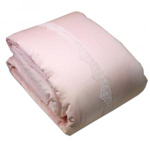 Copriletto trapuntato matrimoniale 2 piazze TWINSET Style rosa