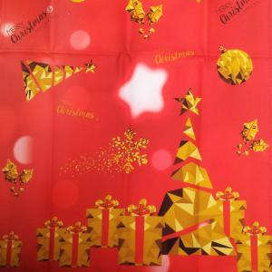 Runner centrotavola 45x140 cm Happidea CRISTALLI idea regalo Natale