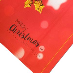 Tovaglia x6 persone 140x180 cm Happidea CRISTALLI idea regalo Natale