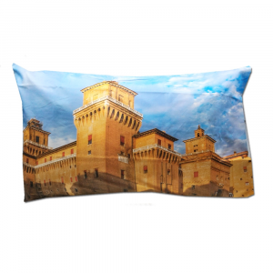 Federa sfusa 50x80 cm FERRARA - Castello Estense stampa digitale