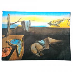 Strofinaccio canovaccio da cucina 50x70 cm PERSISTENZA della MEMORIA Dalì