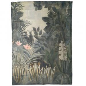 Strofinaccio canovaccio da cucina 50x70 cm Quadri d'Autore JUNGLE di H. Rousseau