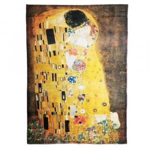 Strofinaccio canovaccio da cucina 50x70 cm Quadri d'Autore BACIO Klimt