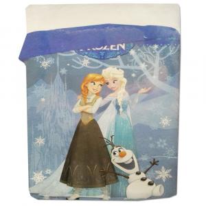 Trapunta piumone invernale letto singolo Disney FROZEN 180x260 cm Elsa&Anna