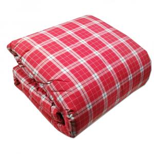 Plaid imbottito 130x170 cm RANDI CLAN 18 rosso disegno scozzese