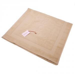Tappeto da bagno 70x140 cm spugna BORBONESE caramello linea Borbonissima