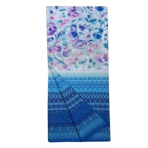 Bassetti Granfoulard telo arredo SANGALLO var.3 270x270 cm blu