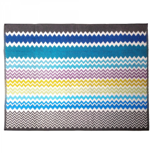 Missoni Home RUFUS 170 tappeto bagno 70x90 cm chevron zig-zag