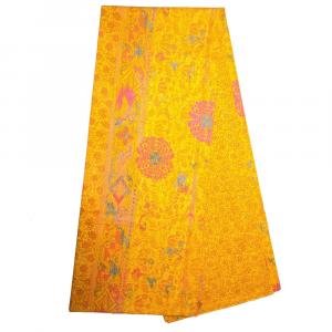 Bassetti Granfoulard telo arredo MIZAR v.4 arancione puro cotone 350x270 cm
