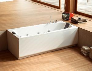 Vasca da bagno senza idro cm 170 x 70 Pop Glass