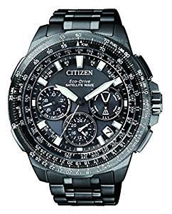 Orologio citizen satellitare gps titanio nero cc9025-51e