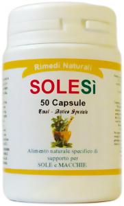 SOLESì - Abbronzatura decisa, più protezione al sole - 50 capsule