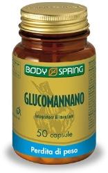 BODY SPRING GLUCOMANNANO 50 CAPSULE