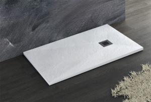 Piatto doccia 80 x 110 in marmoresina con diverse varianti di colore