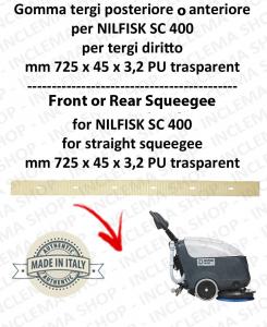 SC 400 - GOMMA TERGI posteriore o anteriore per lavapavimenti NILFISK