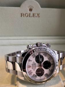 Orologio secondo polso Rolex Daytona oro bianco