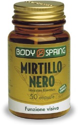 BODY SPRING MIRTILLO NERO 50 CAPSULE