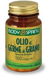 BODY SPRING OLIO DI GERME DI GRANO 100 CAPSULE