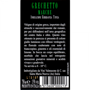Vino bianco Grechetto