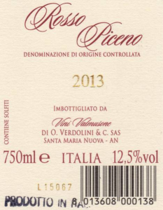 Vino Rosso Piceno DOC
