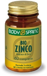 BODY SPRING BIO ZINCO 60 COMPRESSE