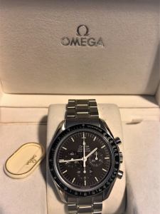 Orologio Omega Speedmaster Professional Brown Dial