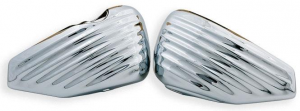 Side Covers for Sportster , Chrome