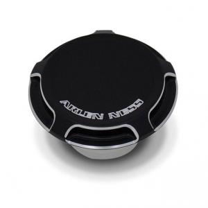 Arlen Ness Beveled Gas Cap Non-Vented, Black