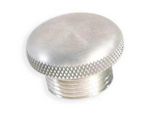 Aluminium Gas Cap, Vented With Rubber Gasket