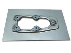 Weld-in EFI plate