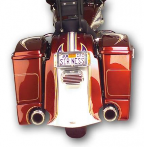 Arlen Ness Rear Bagger Fender Cover