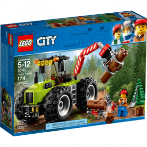 LEGO CITY TRATTORE FORESTALE 60181