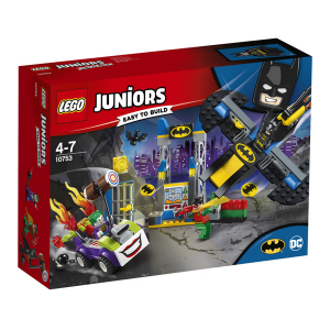 LEGO JUNIORS ATTACCO ALLA BAT-CAVERNA DI THE JOKER 10753