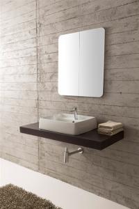 Lavabo per il bagno a incasso cm 80 x 46,5 Arco Scarabeo