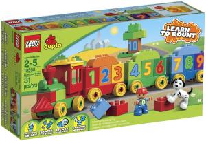 LEGO DUPLO MATTONCINI & CO. IL TRENO DEI NUMERI 10558