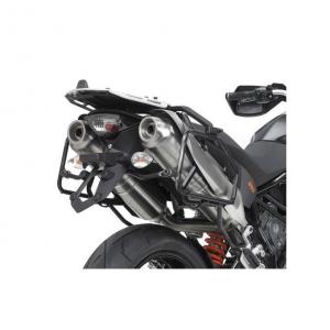 ATTACCO POSTERIORE IN ALLUMINIO SPECIFICO PER BAULETTO MONOKEY KAPPA KRA750 KTM SMT 990 DAL 2009 AL 2016