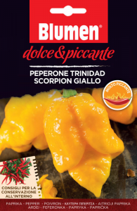 PEPERONE TRINIDAD SCORPION GIALLO